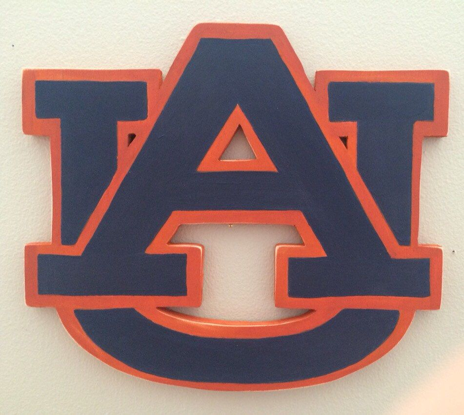 A personal favorite from my Etsy shop https://www.etsy.com/listing/247841143/wooden-auburn-logo
