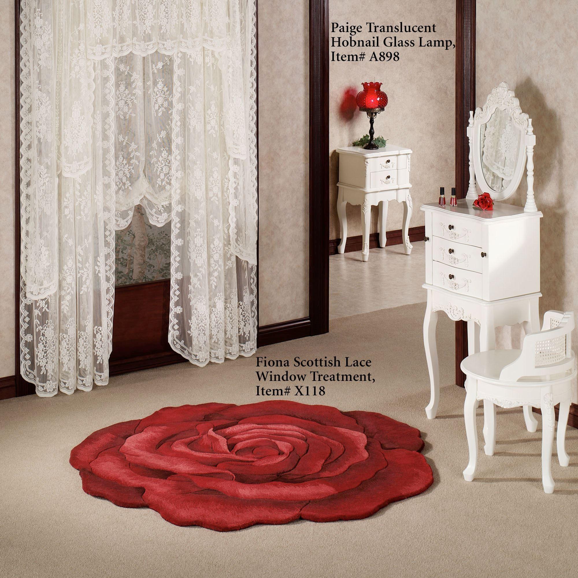 Raelyn Rose Rug Red