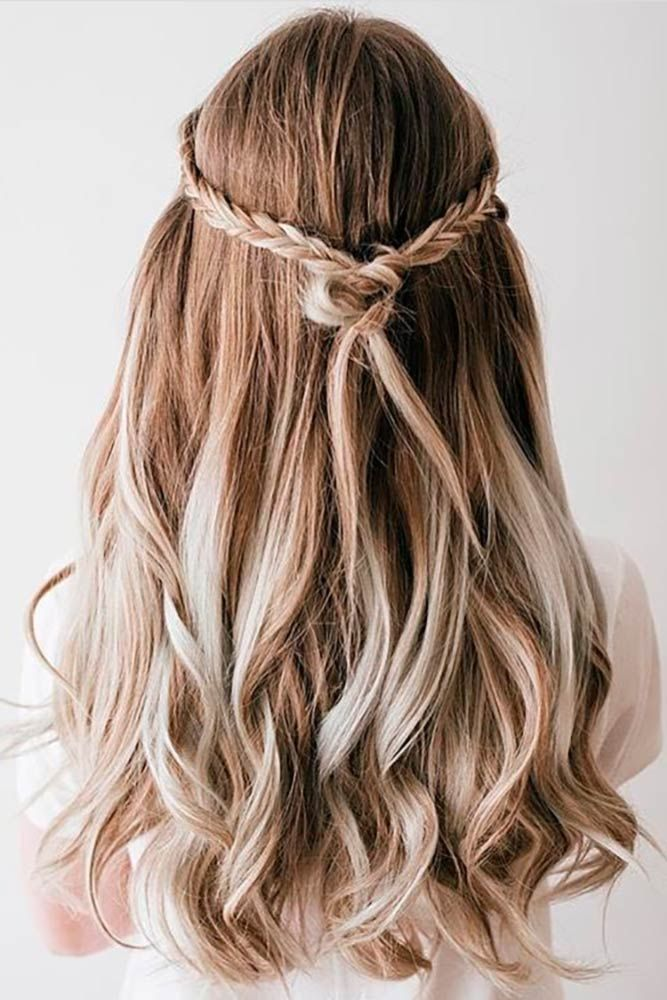 Try 42 Half Up Half Down Prom Hairstyles Lovehairstyles Com Down Hairstyles Hair Styles Dance Hairstyles