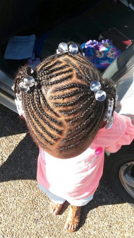 Braid Styles For Little Girls Braids Beads Heart 2 Black