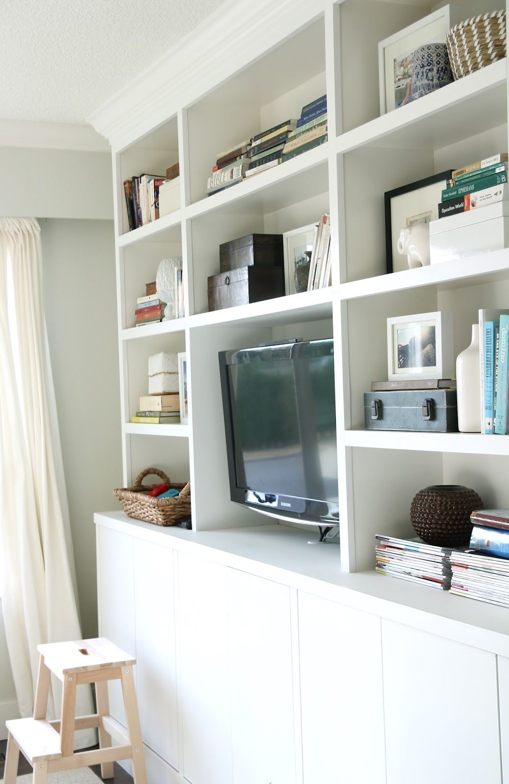 The other day I got the urge to re-arrange my bookcases in the ...