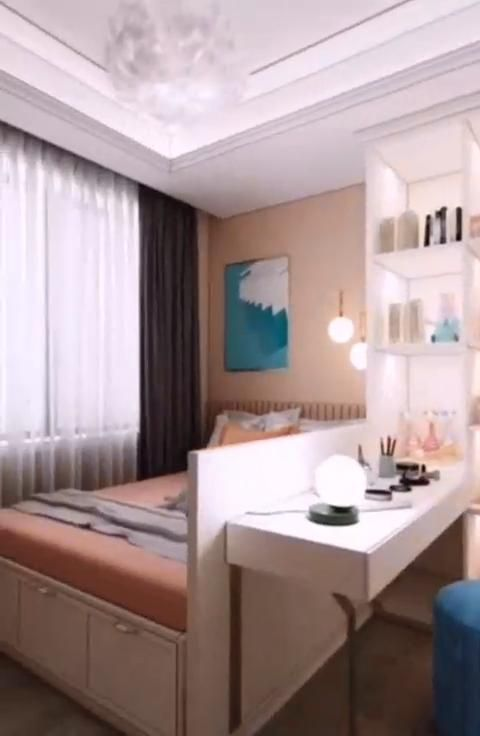 Photo of 8sqm Small Girls Bedroom