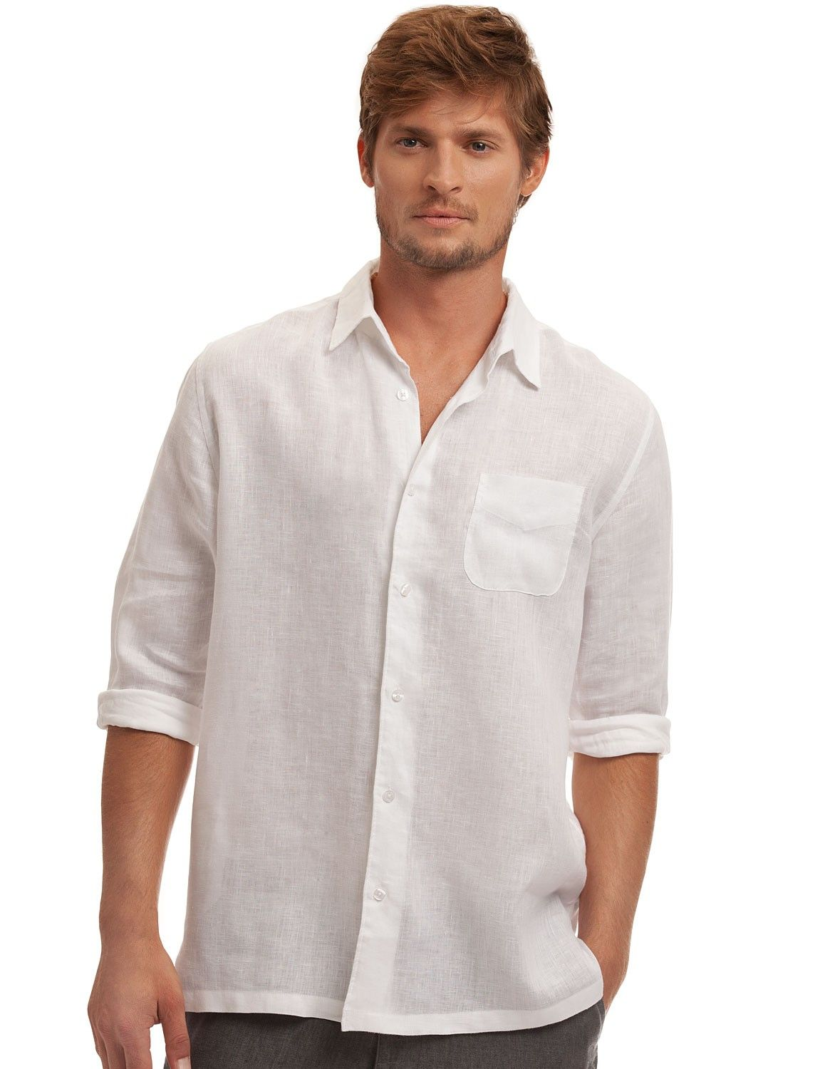 b7a16ab43a38 Our Island Company White Classic Linen Shirt is our most timeless piece.  This white linen shirt is soft and lightweight for any occasion.