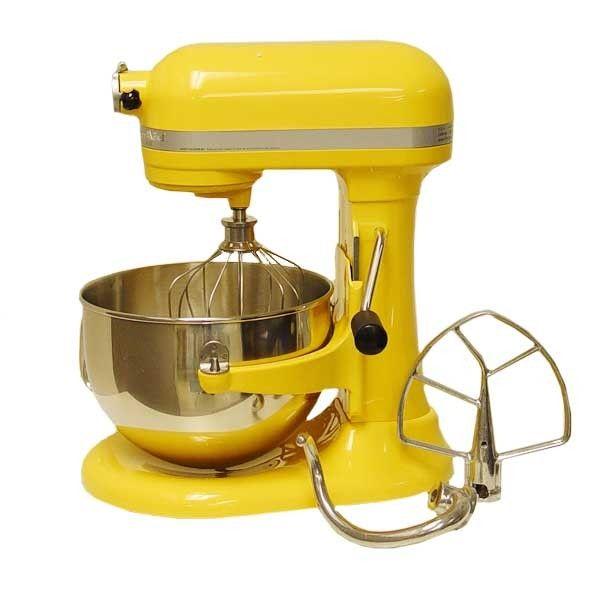 Kitchenaid Yellow Stand Mixer   Google Search