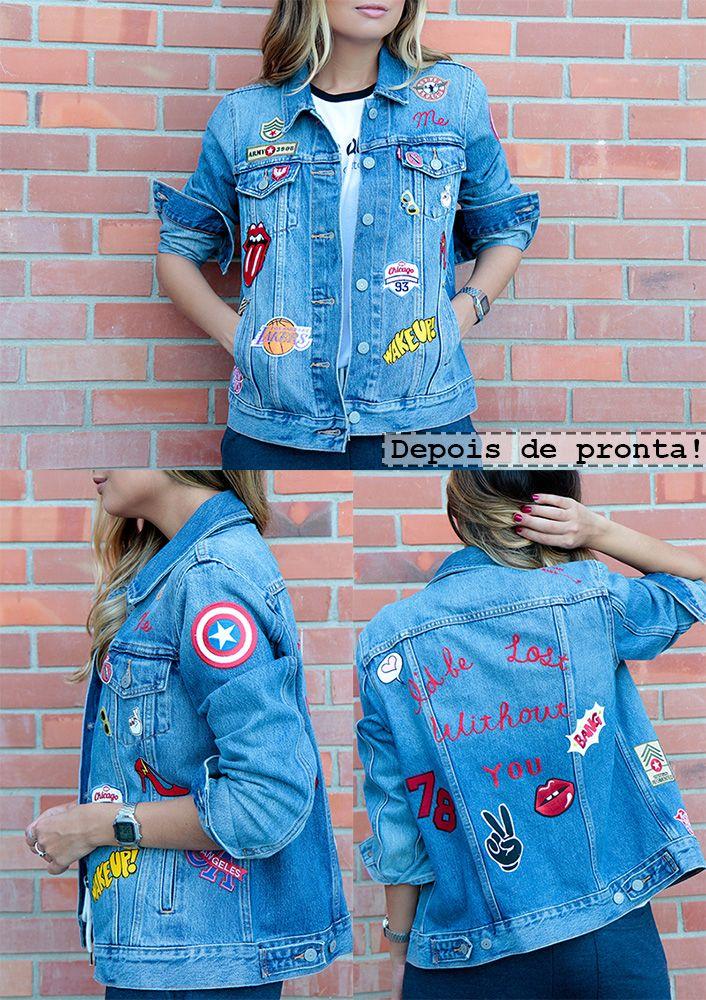 5a95da8c0b2e Patches jaqueta jeans 25 de marçoPatches jaqueta jeans 25 de março Shorts  Jeans, Denim Jeans, Diy Roupas, Cute Coats, Patched Jeans,
