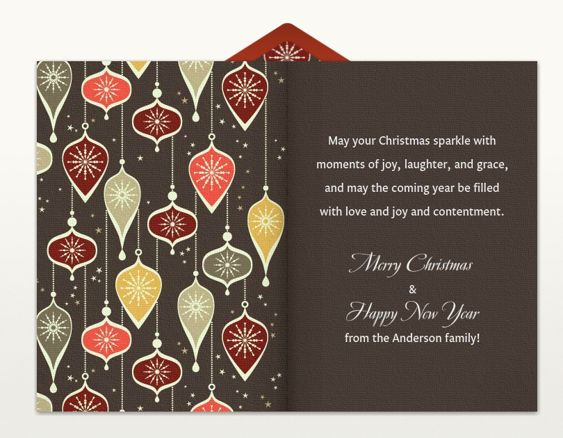 Christmas Card Greetings Christmas greeting words