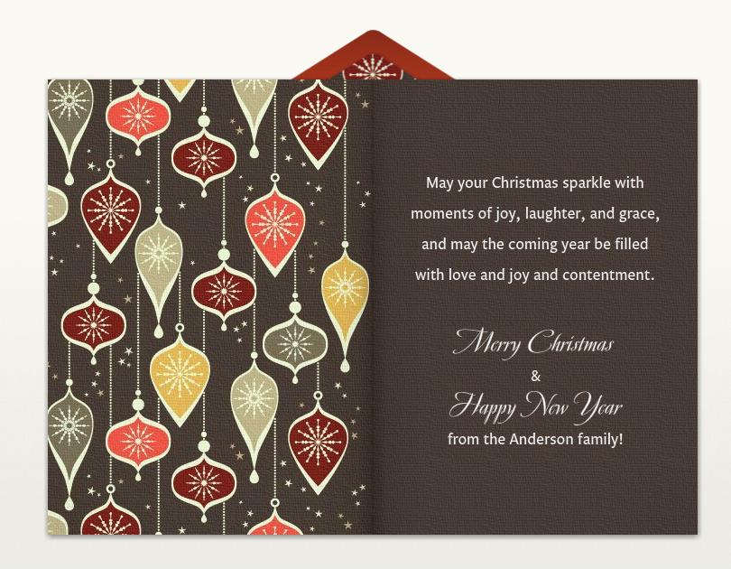 christmas card greetings patterns