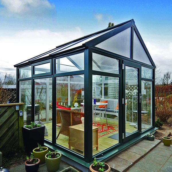 The Scanline Orangerie With All Round Glass To Ground Glazing Is