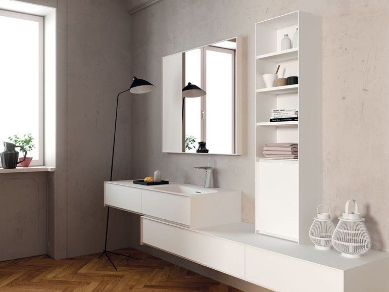 Mobile bagno in legno insideout mobile contenitore by teuco