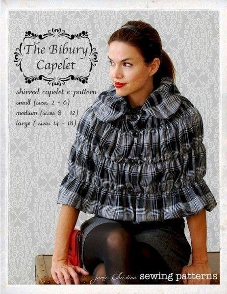 The Bibury Capelet Sewing ePattern - PDF