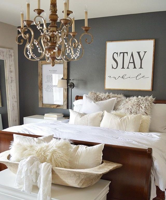 ordinary Second Bedroom Decorating Ideas Part - 7: Pin by Ashley Albin on For the Home | Pinterest | Bedrooms, Master bedroom  and House