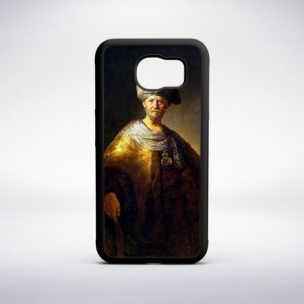 Rembrandt - A Man In An Oriental Dress Phone Case
