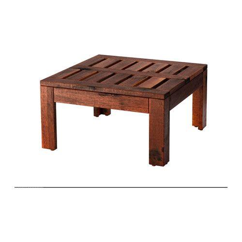 ÄPPLARÖ Bord/krakk IKEA Du kan enkelt beskytte bordet mot slitasje ved å ha på ny glasur regelmessig, for eksempel en gang per år.