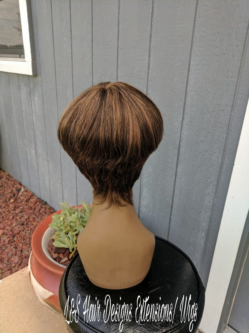 Bowl Cut Machine Sewn Wig Customized Wigs By Shiry Pinterest
