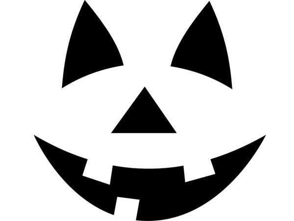 plantilla-halloween-para-calabazas | Halloween Crochet | Pinterest ...