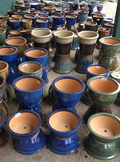 Beautiful ceramic pots available at Fads and Frames in Clinton, MS ...