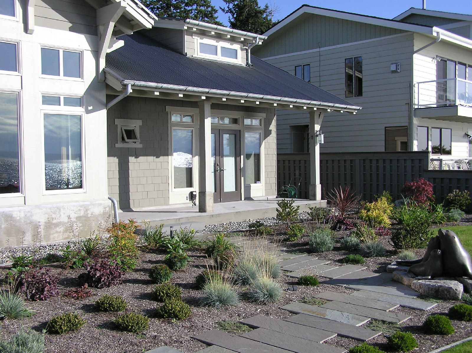 Waterfront Homes | Landscape Architecture Design And Project Management    Seattle Washington | Lankford Associates Inc