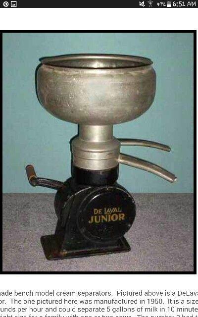 Cream Separator Separators Vintage