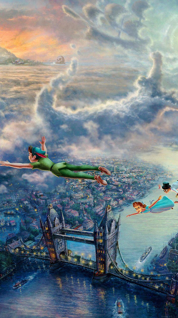 Iphone wallpaper tumblr peter pan - Peter Pan Find More Cute Disney Wallpapers For Your