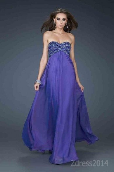 Look best on the best day of your life with the Cute La Femme 18216 Dress Chiffon by 18216 Evening Dress