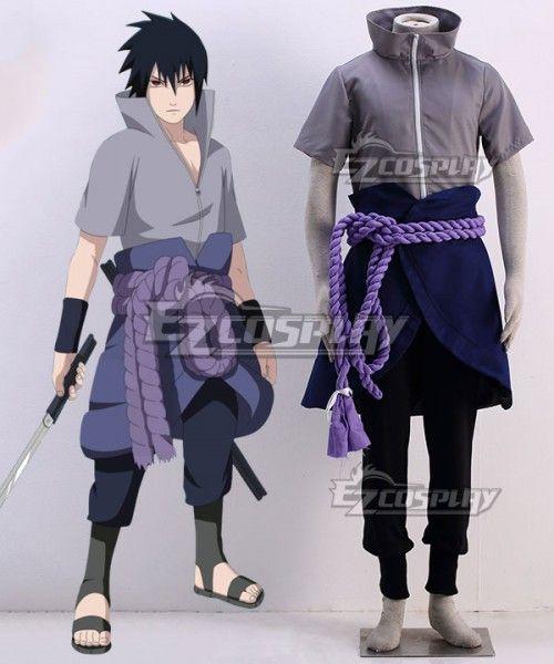 Naruto Sasuke Uchiha Cosplay Costume Sasuke Naruto
