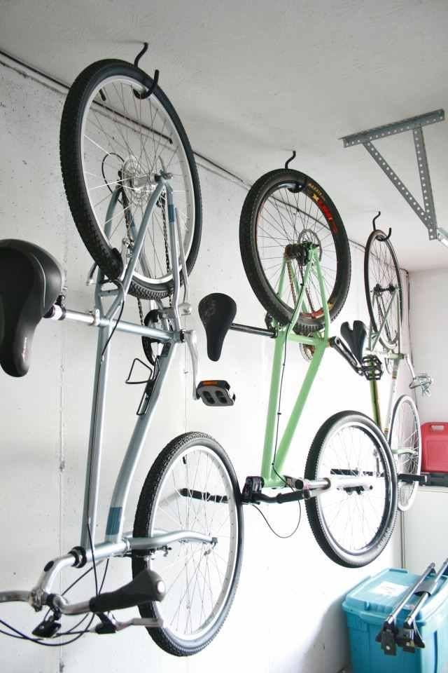 Need To Get These Hooks For The Bikes Garage Garage Bike Diy Garage Storage Diy Garage