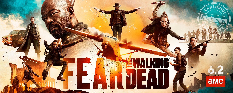 Fear The Walking Dead Exclusive Season 5 Key Art And Premiere Scene Walking Dead Season Fear The Walking Dead The Walking Dead Poster