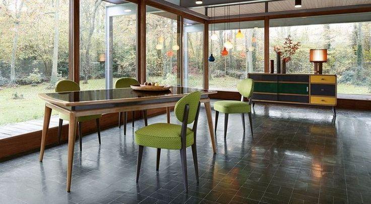 Awesome salle à manger meubles salle à manger roche bobois table en bois et