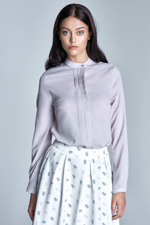 Long sleeve shirt model 59430 Nife. Size Total lenght Chest    36 63 cm 92 cm   38 64 cm 96 cm   40 65 cm 100 cm   42 66 cm 104 cm   44 67 cm 108 cm
