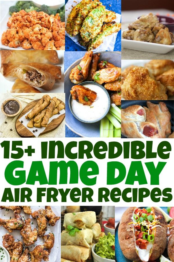 15+ Incredible Game Day Air Fryer Recipes | Mama Cheaps®