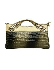 2015 Crocodile Pattern PU Leather shoulde tote cross body handbag Clutch Hobo Purse