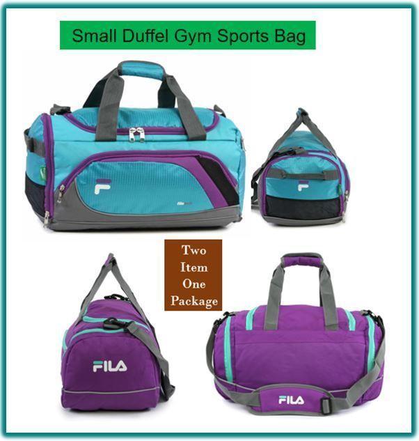 Sprinter Advantage Small Duffel Gym Sports Swim Travel Bag with Shoe  Compartment  Fila  DuffleGymBag 09e47db839