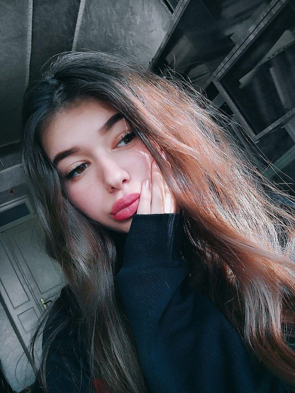 Красивые селфи девушек