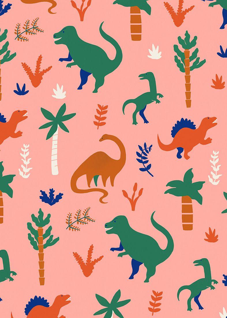 (dinosaur pattern) #dinosaurillustration