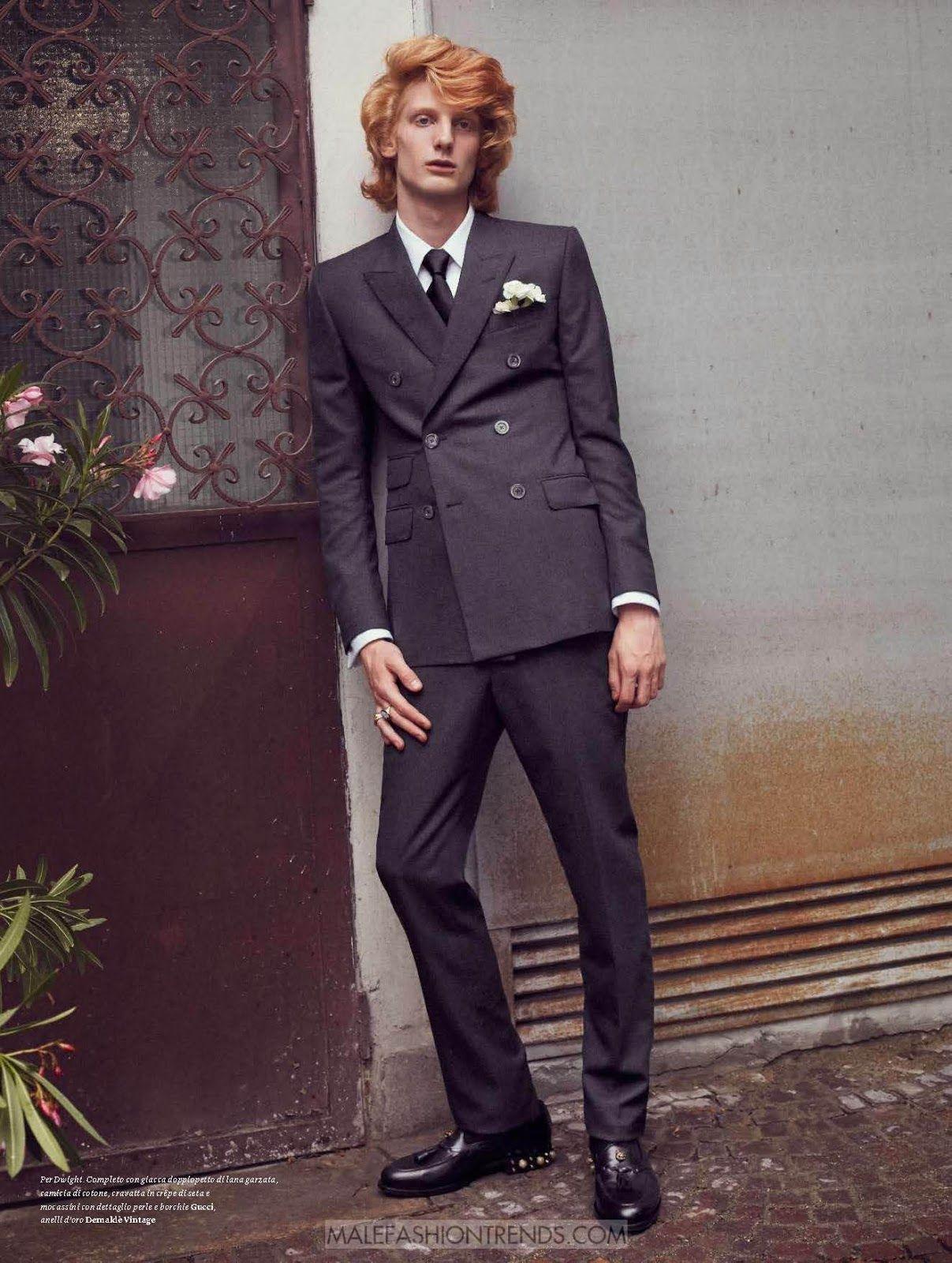 Male Fashion Trends: Editorial por Emit Israeli para L'Officiel Hommes Italia