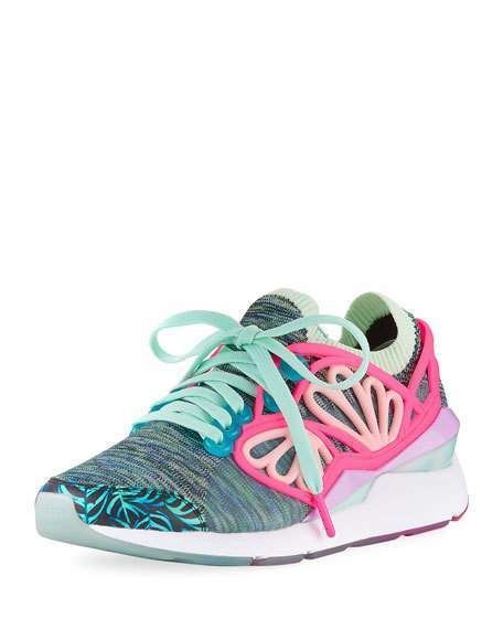 Puma x Sophia Webster Pearl Cage Graphic Knit Trainer Sneaker ac267043b