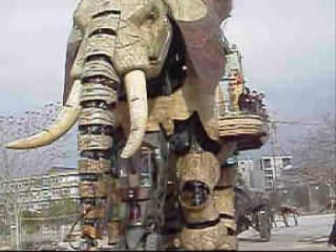 The Machines Of The Isle Of Nantes Les Machines De L Ile Is An Artistic Touristic And Cultural Project Based In Nantes Nantes Wonders Of The World Elephant