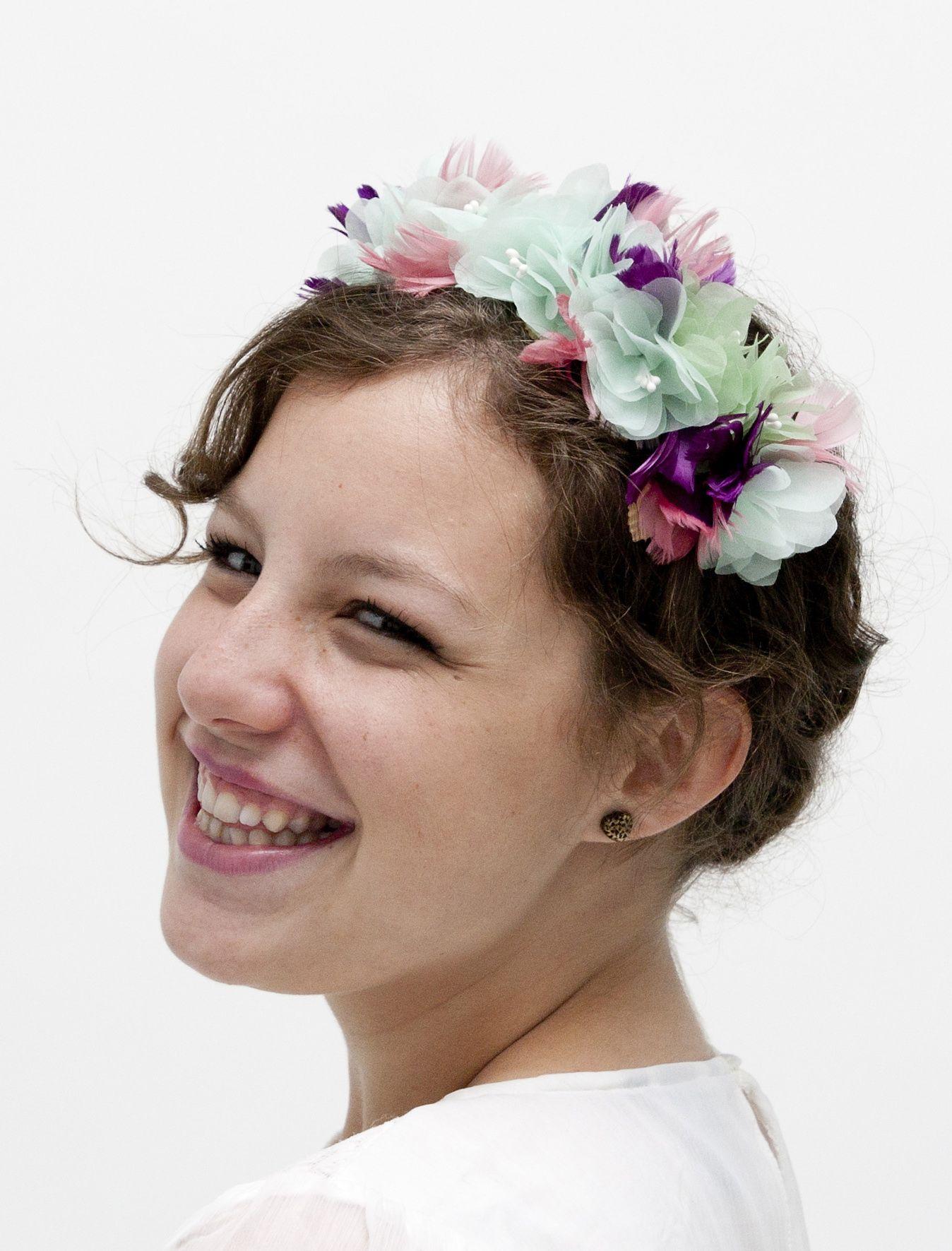 Glasgow wedding flower crown pink floral headband bridal floral glasgow wedding flower crown pink floral headband bridal floral crown boho flower izmirmasajfo
