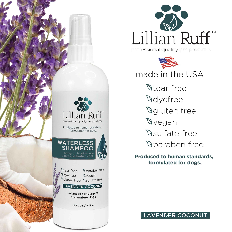 Lillian Ruff Waterless Shampoo Lavender Coconut in 2020
