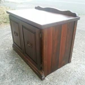 Wash Stand Cabinet Dark Wood  SF Bay Area Furniture   Craigslist
