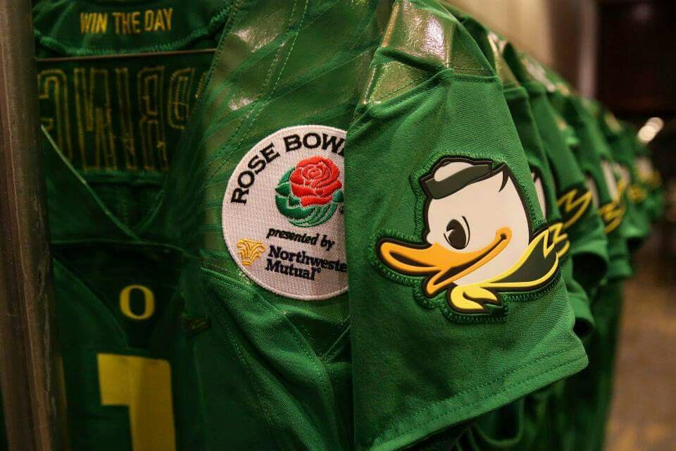 """""""SHE'S GOT Orє❡On ᎠucҜs'S FEVER ☝GO DUCKS. . ."""" Oregon Ducks Rose Bowl 2015 - WE ARE THE CHAMPIONS. . ."""