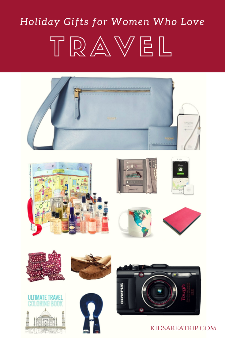 Unique holiday gift ideas for women on the go - Kids Are A Trip