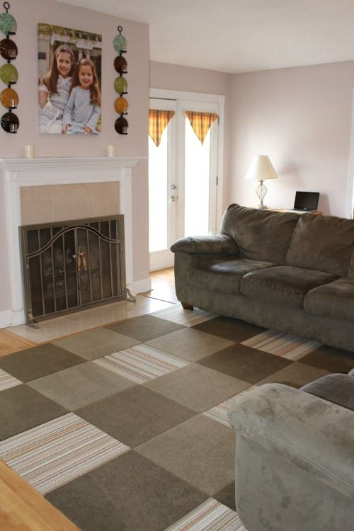 Little Change Big Difference With Flor Living Room Tiles