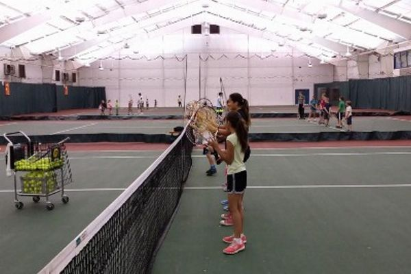Tennis Lessons - Indoor Session 1 Mint Valley Racquet and Fitness Complex Longview, WA #Kids #Events
