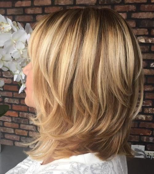 70 Brightest Medium Layered Haircuts To Light You Up In 2019 Hair