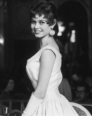 Brigitte in the 1950's - tres chic!
