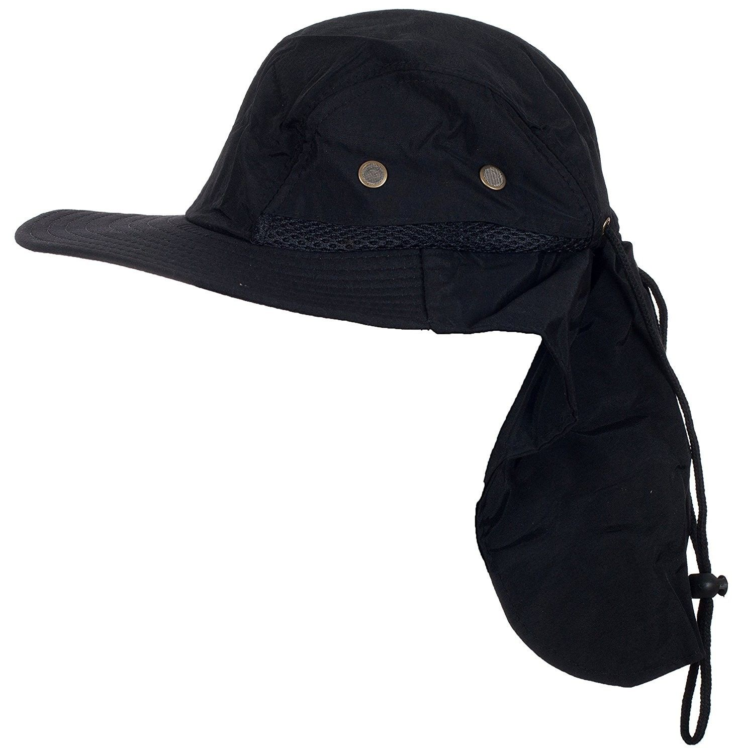 Desert Sun Fisherman Hunter Bucket Hat - Black - CZ11WPONZUD - Hats  amp   Caps 9e0c80114b1