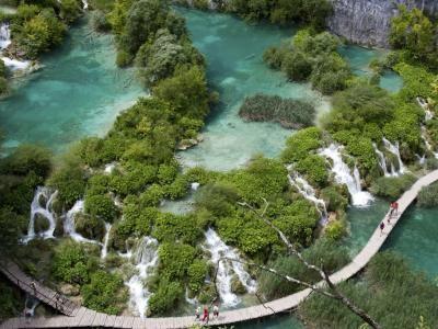 Plitvicer Seen in Kroatien Kurzurlaub am schönsten