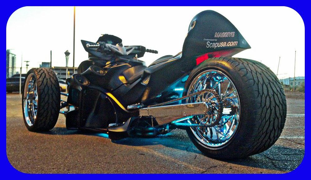 Custom Can Am Spyders Google Search Motorcycles Can Am Spyder