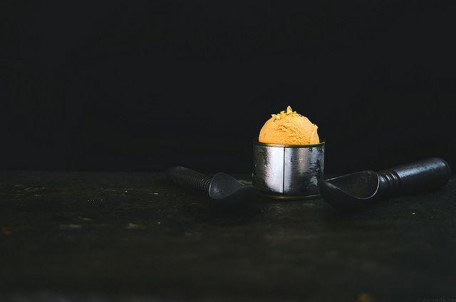 Indian Carrot Halva Ice Cream | A Brown Table